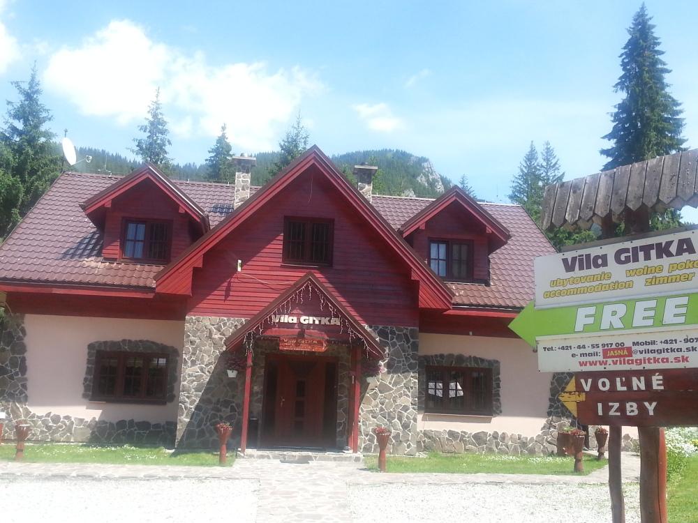 Vila GITKA – Ubytovanie v Demänovskej doline eeba1a7fadb